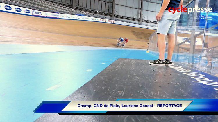 Championnats canadiens sur piste Lauriane Genest – REPORTAGE