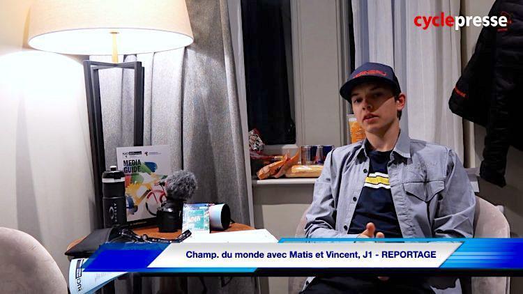 Championnats du monde sur route avec Matis et Vincent J1 -REPORTAGE