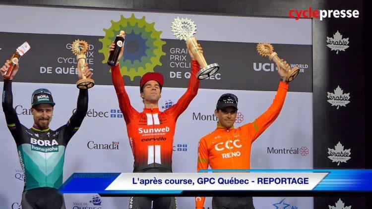 L'après course, GPC Québec – REPORTAGE