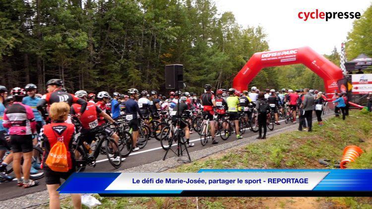Le défi de Marie-Josée, partager le sport – REPORTAGE