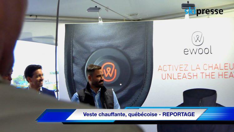 Veste chauffante, québécoise – REPORTAGE