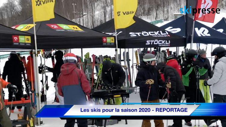 Les skis pour la saison 2020 – REPORTAGE