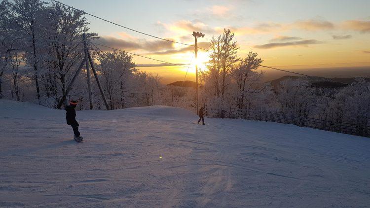 La saison est lancée à Bromont, les conditions sont surprenantes – Bromont montagne d'expériences