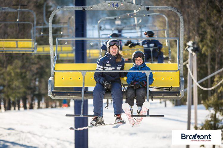 C'est parti pour le ski à Bromont !