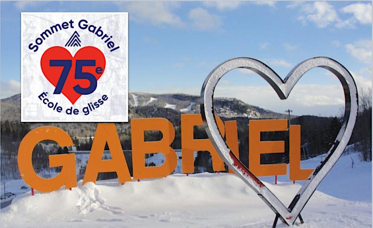 75 ans de l'École de glisse Sommet Gabriel