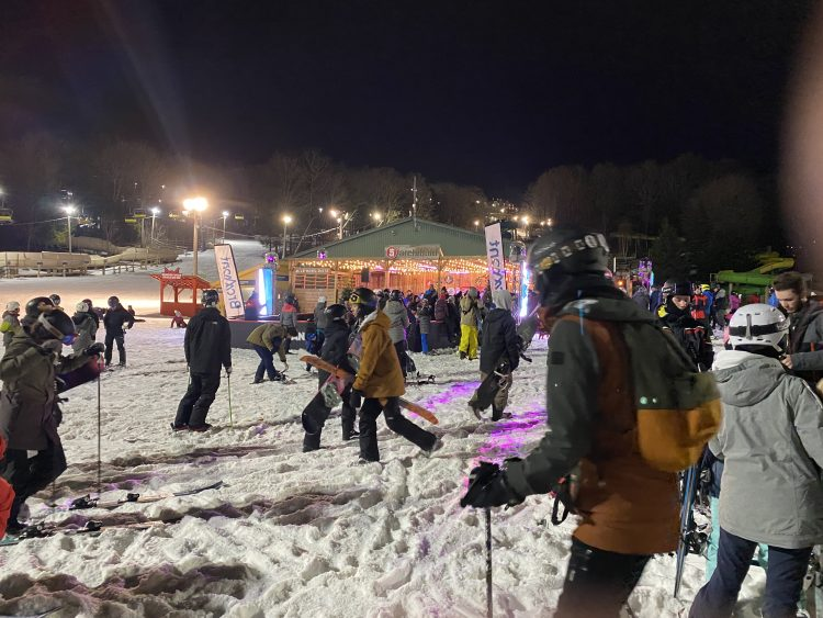 Bromont, montagne d'expériences – Nuit Blanche – December 26th, 2019