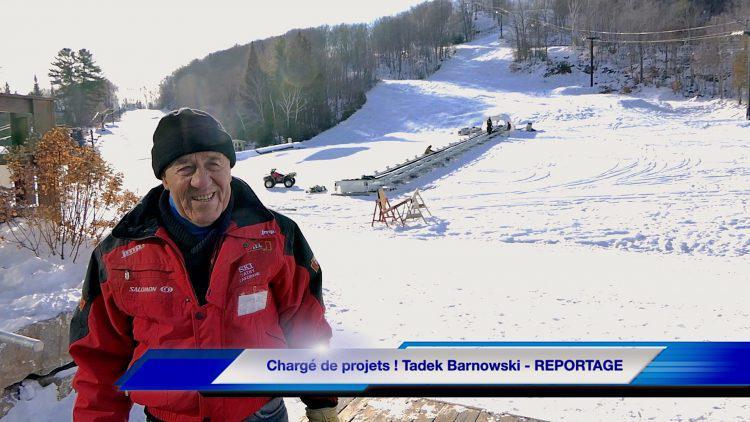 Chargé de projets ! Tadek Barnowski – REPORTAGE