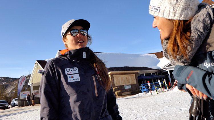Laurence St-Germain, 5e place slalom parallèle Saint-Moritz