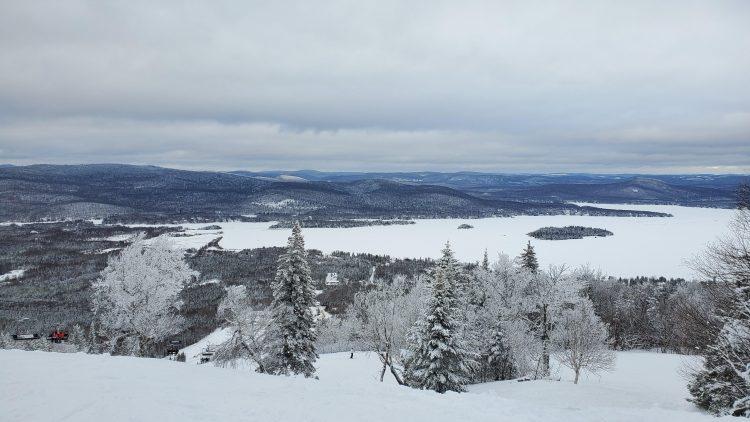 Journée de poudreuse pour le début de 2020 – Ski La réserve – 1er janvier 2020