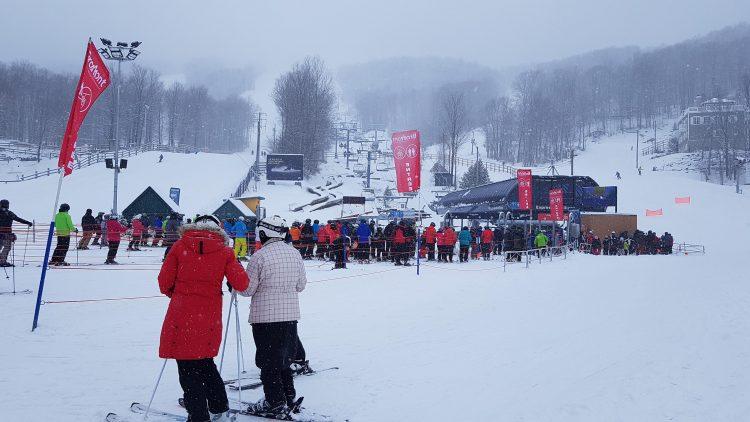 Ski Bromont – Au coeur de la tempête – 16 janvier 2020