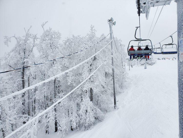 Bromont, montagne d'expériences – Enfin un peu de neige – 19 janvier 2020