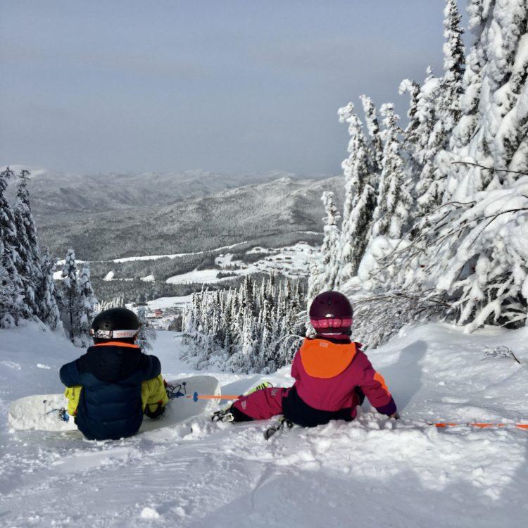 Le Valinouët – Ici il y en a de la neige! 19 janvier 2020