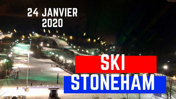 Stoneham – Joindre l'utile et l'agréable, ski et après-ski – 24 janvier 2020