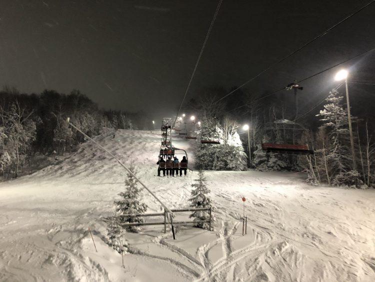 Sommet St-Sauveur – Réveillon du Jour de l'An sous la neige – 31 décembre 2019
