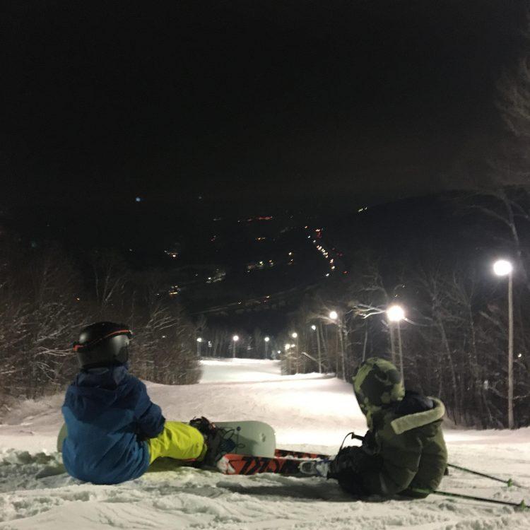 Sommet Gabriel – Nouvelle décennie, toujours en ski! – 2 janvier 2020