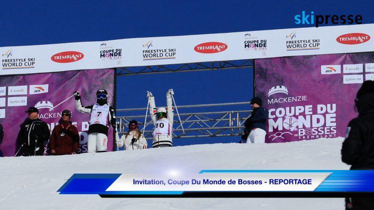 Invitation, Coupe Du Monde de Bosses – REPORTAGE