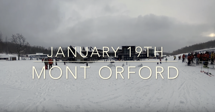 MONT ORFORD –  FRESH SNOW!! – JANUARY 19TH, 2020