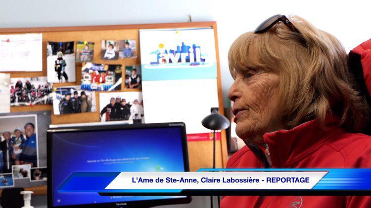 L'âme de Ste-Anne, Claire Labossière – REPORTAGE