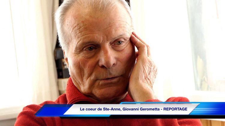 Le coeur de Ste-Anne, Giovanni Gerometta – REPORTAGE