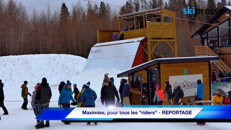 """Maximise, pour tous les """"riders"""" – REPORTAGE"""