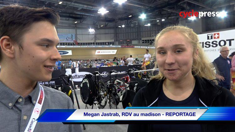 Megan Jastrab, RDV au madison – REPORTAGE