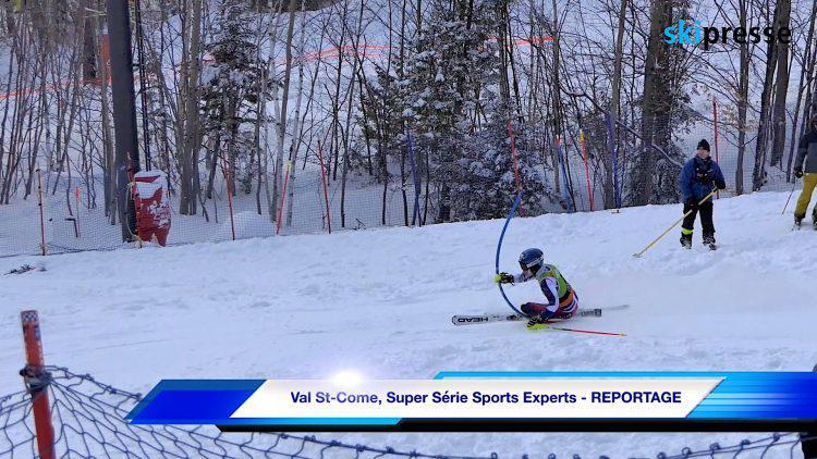 Val St-Come, Super Série Sports Experts – REPORTAGE