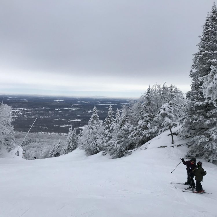 Mont Sutton – January 18 2020 – Skiing the White Forest