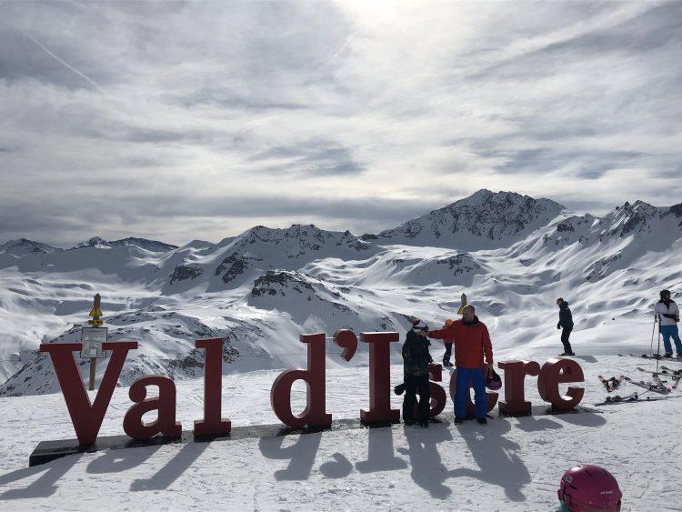 Val d'Isère – Un décor enchanteur – 16 février 2020