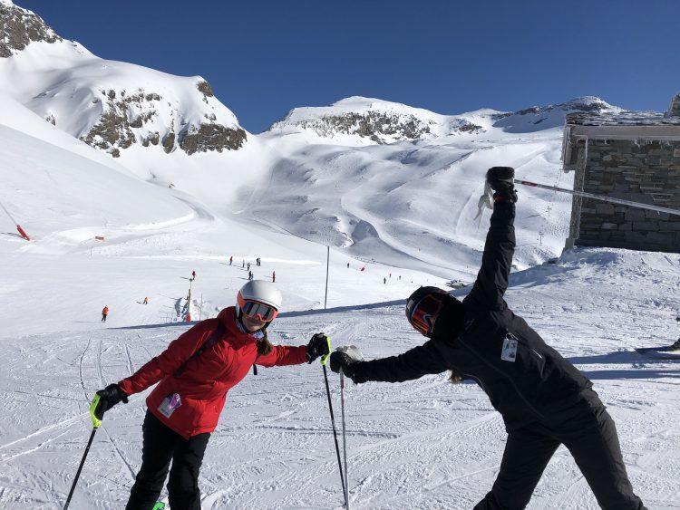 Val d'Isère-La folie d'une poudreuse-18 février 2020