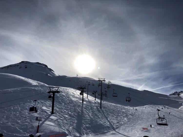 Val d'Isère-Frénésie sur la montagne-20 février 2020