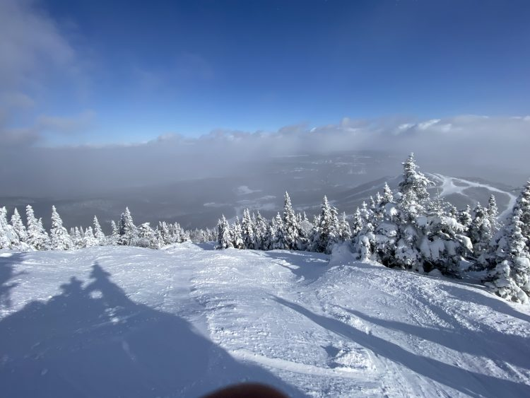 Mont Orford – Storm-day-after – February 8th