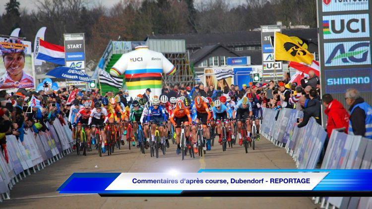 Commentaires d'après course, CX Dubendorf – REPORTAGE