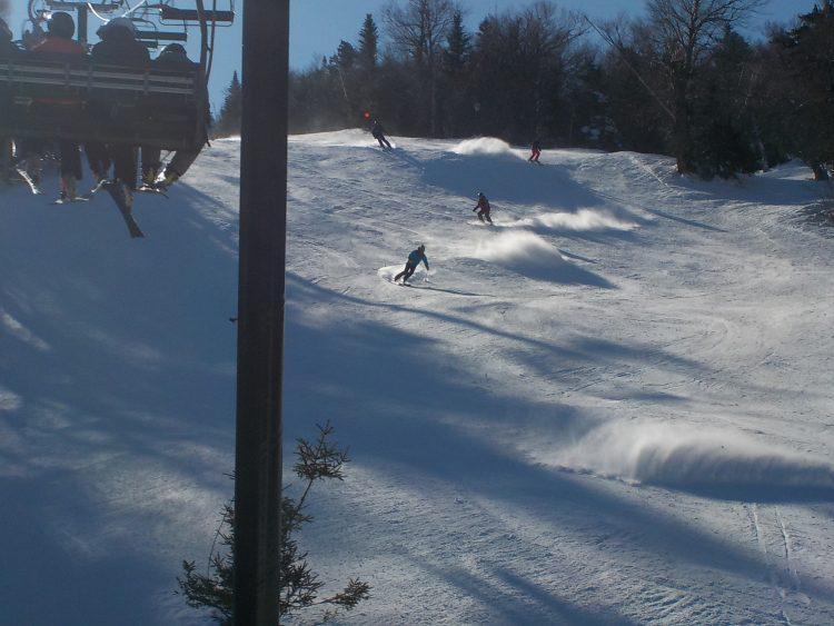 Mont Sutton – C'est 60 pistes, 11 pistes travaillées qui n'attendent que vous! – 24 février 2020