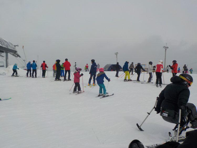 Bromont, montagne d'expériences – Skieurs masqués pour profiter des 36 cm de neige fraîche –  29 février 2020