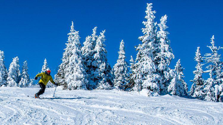 Mont Orford – Soleil et neige en abondance – 9 février 2020