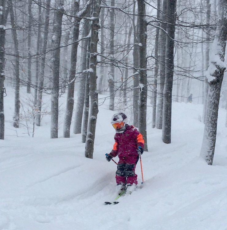 Sommet Saint-Sauveur – Quand l'école est fermée, les souris skient!-27 février 2020