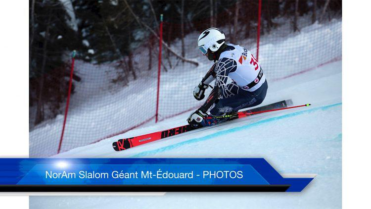 Nor-Am Slalom Géant hommes Mont-Édouard – PHOTOS