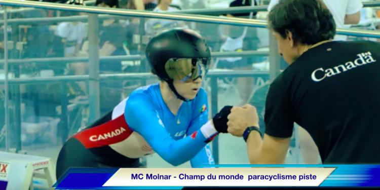 Marie-Claude Molnar -Paracyclisme sur piste – Championnats du monde