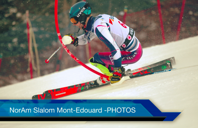Nor-Am slalom hommes 2e manche – PHOTOS