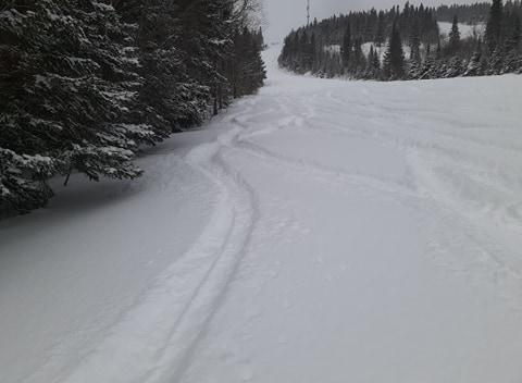 Ski Val d'Irène – Abondance de poudreuse – 28 février2020