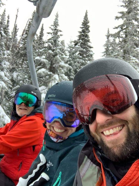 Family Ski Trip – Massif- March 10