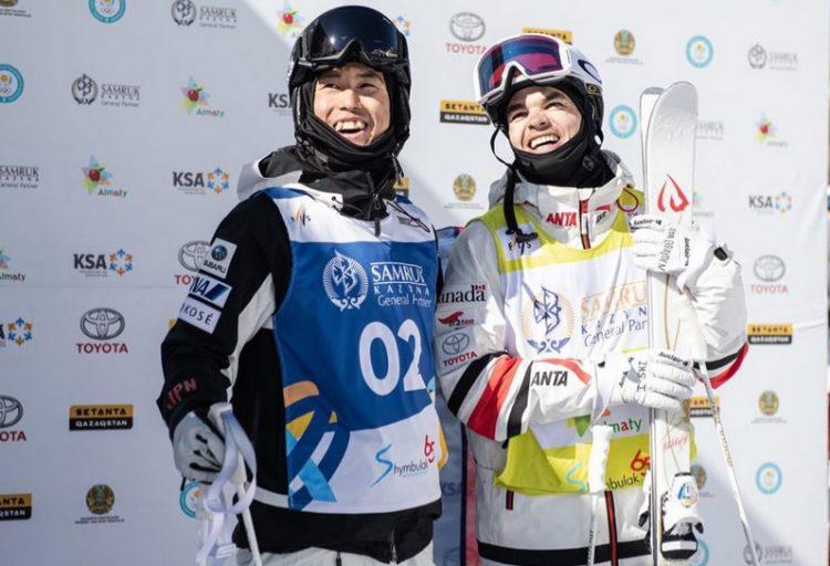 À la rencontre du skieur de bosses japonais: Ikuma Horishima