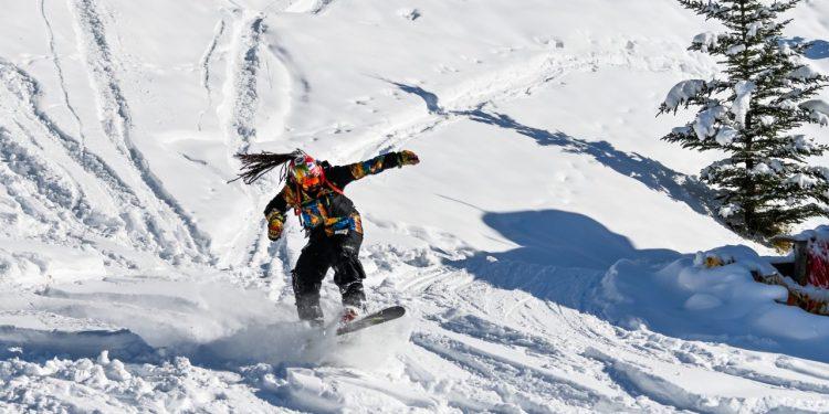 Banff lance la saison de ski au Canada. Quelle chance incroyable d'y être!