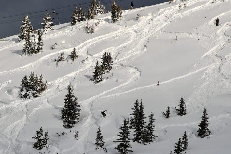 Banff Sunshine Village – les 22 et 24 décembre 2020 – Encore de la neige!