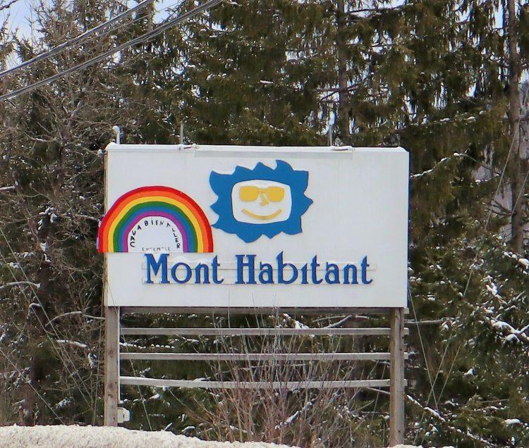 Mont Habitant – Fin d'année enneigée et ensoleillée – 31 décembre 2020