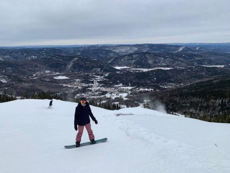 Belle vue au Mont Édouard – 30-12-2020