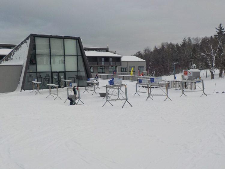 Mont Owl's Head, Vendredi le 22 janv. Trop beau toute la journée sur les skis ¨ Non-Stop¨.