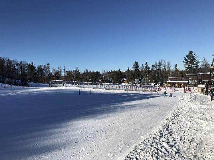 Ski Montcalm – Aujourd'hui je retrouve mon calme… – 8 janvier 2021