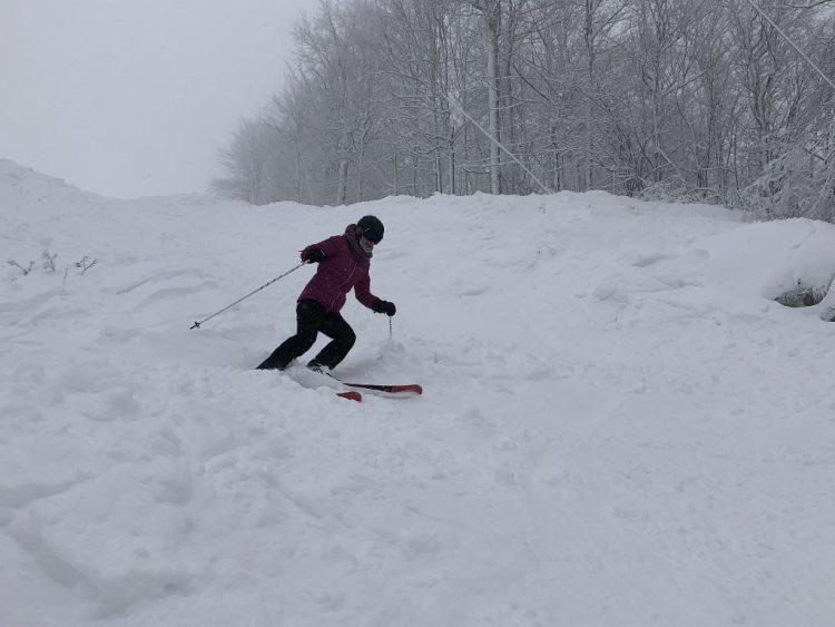 Bromont avec 20 cm de neige 17 janvier