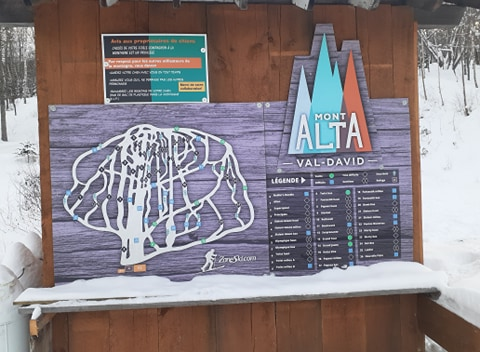 Mont Alta – Plaisir et neige naturelle – 22 janvier 2021